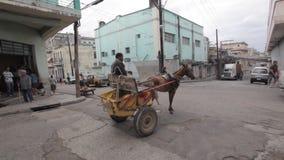 交通在哈瓦那 股票录像