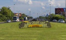 交通在萨格勒布 免版税库存图片