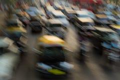 交通堵塞在孟买 库存照片