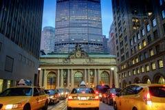 交通堵塞在曼哈顿 图库摄影