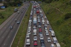 交通堵塞通信工具 免版税库存图片