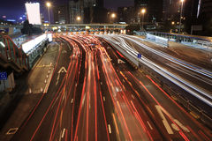 交通堵塞 免版税图库摄影