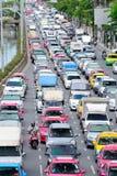 交通堵塞 免版税库存照片