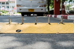 交通控制障碍 免版税库存照片