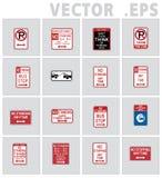 交通标志路美国 免版税库存图片