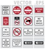 交通标志路 库存照片