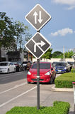 交通标志 库存照片