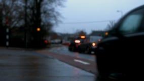 交通的录影与汽车的