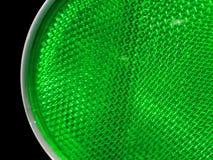交通绿色琥珀色的颜色 免版税库存照片