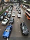 交通街市香港 免版税库存图片
