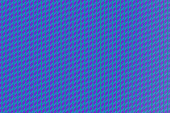 交错的栅格-天蓝和紫色的导线 免版税库存照片