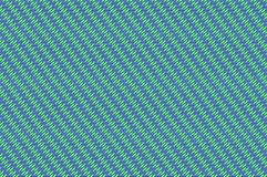交错的栅格-紫罗兰色和薄荷绿色变苍白织法 免版税库存图片