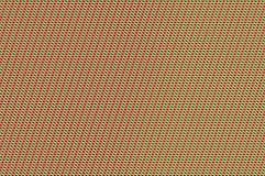 交错的栅格-蕃茄和春天绿色编织 免版税库存照片