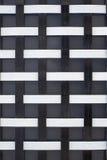 交错的铁条纹的抽象构成 免版税图库摄影