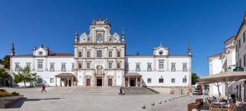 亦称圣塔伦看见大教堂诺萨Senhora da康塞桑教会 库存图片