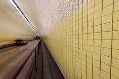 亦称罗伯特C征收百老汇隧道在旧金山 库存照片
