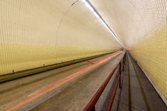 亦称罗伯特C征收百老汇隧道在旧金山 库存图片