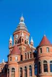 亦称达拉斯县法院大楼老红色博物馆 库存照片