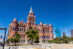 亦称达拉斯县法院大楼老红色博物馆 图库摄影