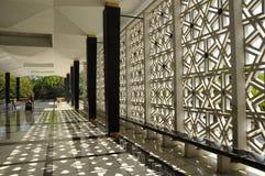 亦称马来西亚全国清真寺Masjid Negara 图库摄影
