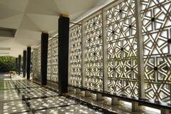 亦称马来西亚全国清真寺Masjid Negara 免版税库存图片