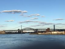 亦称Triboro桥梁- RFK桥梁 图库摄影