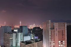 产业区域在荃湾的 库存照片