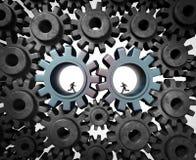 产业合作 免版税库存图片
