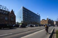 产业哥本哈根议院  免版税库存照片