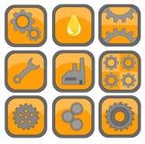 产业商标 免版税库存图片