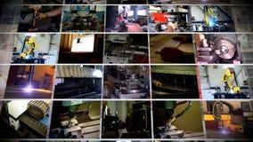 产业多屏幕制造 股票视频