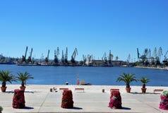 产业港口 免版税库存图片