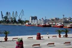 产业港口 库存图片
