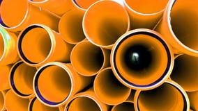 产业的管子 免版税库存图片