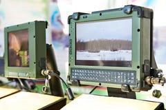 产业的被保护的片剂计算机 库存照片