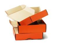 产品包裹箱子 免版税库存图片