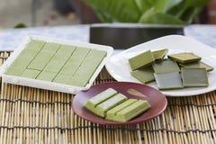 产品巧克力绿茶matcha 免版税库存照片