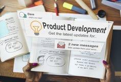 产品开发生产力效率供应概念 免版税库存照片