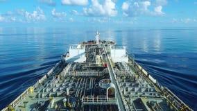 产品油槽行动通过镇静蓝色海 股票视频