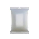 产品的白色空的包裹 库存照片
