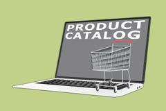 产品目录概念 向量例证