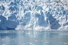 产犊冰川 库存图片