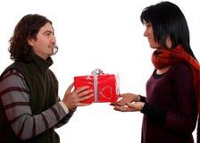 产生存在的夫妇 免版税库存图片