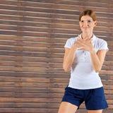 产生指令培训人的健身 库存照片