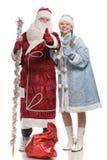 产生未婚圣诞老人符号雪赞许的克劳&# 库存照片