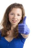 产生英俊的好的符号妇女 免版税库存图片