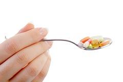 产生药物 免版税库存照片