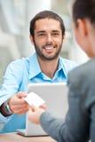 产生访问的看板卡 免版税库存图片