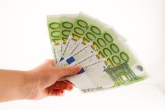 产生货币 免版税图库摄影