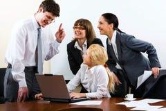 产生重要instruc的上司 免版税库存图片